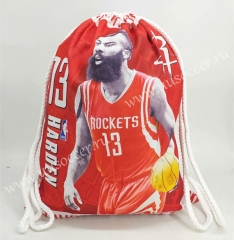 2020-2021 Houston Rockets Red Basketball Bag