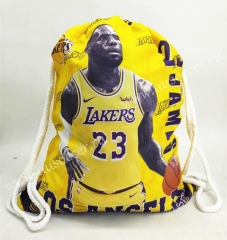 2020-2021 L.A. Lakers Yellow Basketball Bag