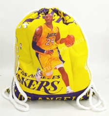 2020-2021 Kobe L.A. Lakers Yellow Basketball Bag
