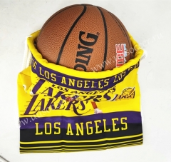 2020-2021L.A. Lakers Yellow Basketball Bag