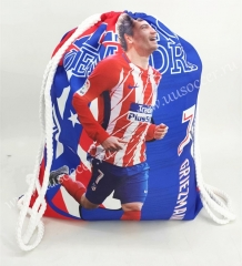 2020-2021 Atlético Madrid Red & White Football Bag