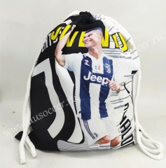2020-2021 Juventus FC Black & White Football Bag