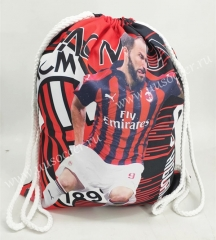 2020-2021 AC Milan Red & Black Football Bag