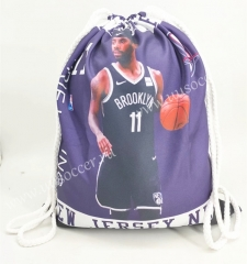 2020-2021 Brooklyn Nets Black Basketball Bag