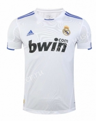2010-2011 Retro Version Real Madrid White Thailand Soccer Jersey AAA-SL