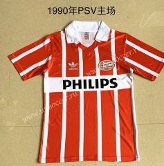 1990 Retro Version PSV Eindhoven Red & White Thailand Soccer Jersey AAA-AY