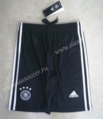 2020-2021 Germany Home Black Thailand Soccer Shorts