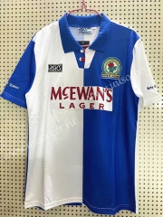 1994-1995 Retro Version Blackburn Rovers Blue & White Thailand Soccer Jersey AAA-811