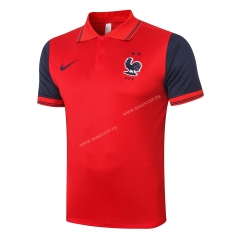 2020-2021 France Red Thailand Polo -815