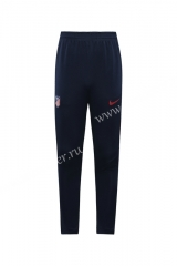 2020-2021 Atletico Madrid Dark Blue Thailand Soccer Long Pants -815