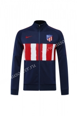 2020-2021 Atletico Madrid Blue & White Thailand Soccer Jacket-815