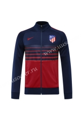 2020-2021 Atletico Madrid Red & Blue Thailand Soccer Jacket -815