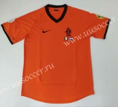 2000 Retro Version Netherlands Orange Thailand Soccer Jersey AAA-912