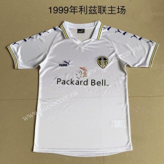 1999 Retro Version Leeds United Home White Thailand Soccer jersey AAA-XY