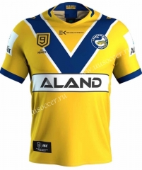 2020-2021 Manna fish Home Yellow Rugby Shirt​