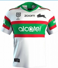 9 Person Version Sydney Rabbitohs White Rugby Shirt