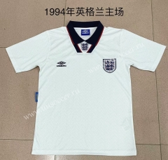 1994 Retro Version England Home White Thailand Soccer Jersey AAA-709