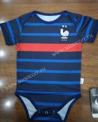 2020-2021 France Home Blue Baby Soccer Uniform