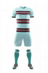 Without logo 2020-2021 Portugal Away White Soccer Uniform