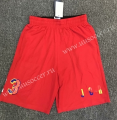 ZK708 Red NBA Shorts