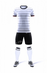 Without logo 2020-2021Germany Home White Soccer Uniform