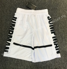 ZK711 White NBA Shorts