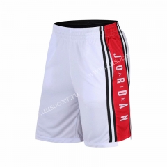 ZK710 White NBA Shorts