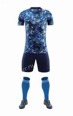 Without logo 2020-2021Japan Home Blue Thailand Soccer Uniform