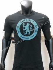 Chelsea Black Cotton T-shirt