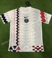 2020-2021 Paris SG White Traning Thailand Soccer Jersey