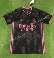 2020-2021 Real Madrid 3rd Away Black Thailand Soccer Jersey AAA