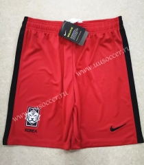 2020-2021 Korea Republic Home Red Thailand Soccer Shorts