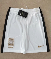 2020-2021 Korea Republic Away White Thailand Soccer Shorts