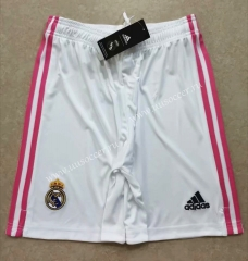 2020-2021 Real Madrid Home White Thailand Soccer Shorts