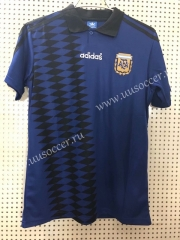 1994 Retro Version Argentina Royal Blue Thailand Soccer Jersey AAA