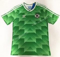 1990 Retro Version Germany Green Thailand Soccer Jersey-912