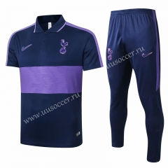 2020-2021 Tottenham Hotspur Purple Thailand Polo Uniform-815