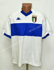 1998-2000 Retro Version Italy Away White Thailand Soccer Jersey AAA-503