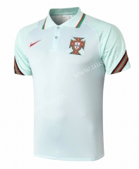 2020-2021 Portugal Light Green Thailand Polo-815