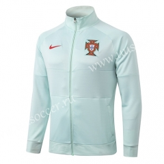 2020-2021 Portugal Light Green Thailand Jacket -815
