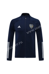 2020-2021 BOCA Juniors Royal Blue Soccer Jacket -LH