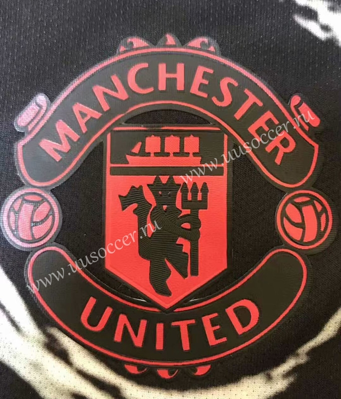 2020 2021 Manchester United Black Training Thailand Soccer Jersey Aaa 509 Manchester United