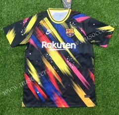 202-2021 Paris SG Red & Yellow & Black Thailand Training Soccer Jersey-407