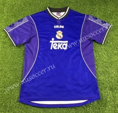 1997-1998 Real Madrid Away Purple Thailand Soccer Jersey AAA-503