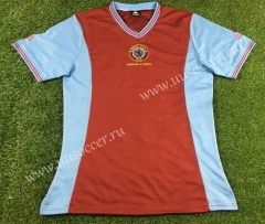 1881-1882 Retro Version Aston Villa Red Thailand Soccer Jersey AAA-503