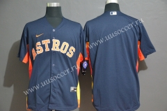 2020 Season MBL Astros Royal Blue Jersey