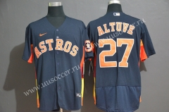 2020 Season MBL Astros Royal Blue #27  Jersey