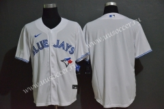 2020 New MLB Blue Jays  White Jersey