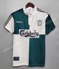 1995-1996 Retro Version Liverpool White Thailand Soccer Jersey AAA