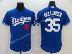 2020 New MLB Los Angeles Dodgers Blue #35 Jersey
